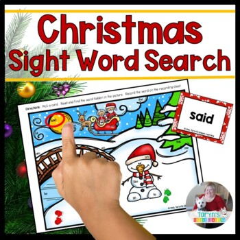 Christmas Sight Word Search #DecemberDeals