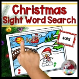 Christmas Sight Word Search