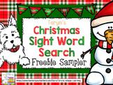 Christmas Sight Word Find It FREEBIE