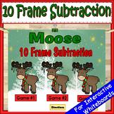 Ten Frame Subtraction PowerPoint Game