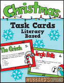 Holiday Activites - Christmas Activities - Christmas Task Cards - ELA Test Prep