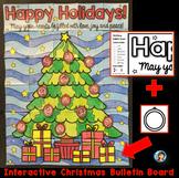 Collaborative Christmas Writing Bulletin Board