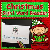 Christmas Activities : Christmas Sight Word Reader - Tracing Sentences