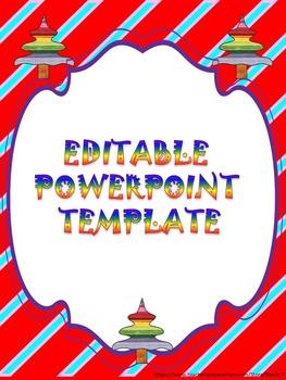 Free Winter - Editable Powerpoint templates