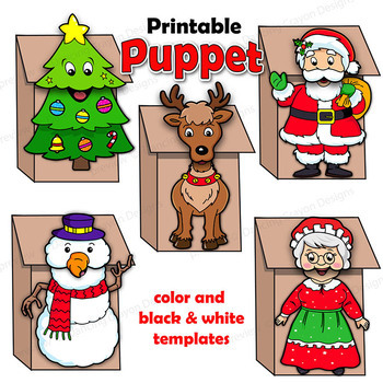 Christmas Craft Activity BUNDLE | Holiday Printable Paper ...