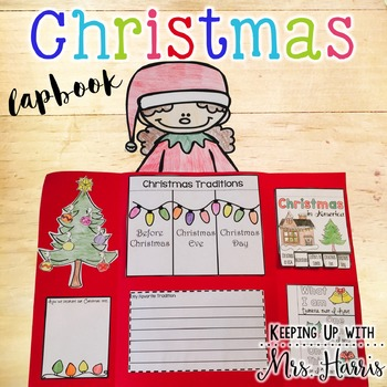 Christmas in America Lapbook