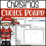Christmas Choice Board