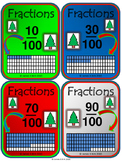 Christmas - Fractions Card - Math