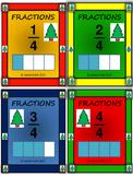 Christmas - Math - Fractions Cards - Mega Pack