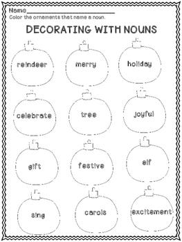 Christmas Language Arts Activities