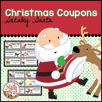 Christmas Activity  | Sneaky Santa Coupons