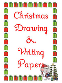 Christmas 24 Writing Drawing and Notes Papers