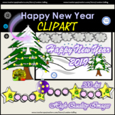 FREE Clipart - New Year