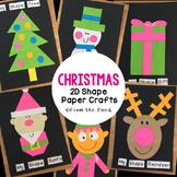 Christmas 2D Shape Paper Crafts