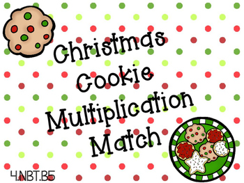 Christmas 2x2 Multiplication Matching