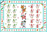 Christmas 3 and 6 Times Tables Games