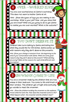 Christmas - 30 Drama Scenarios