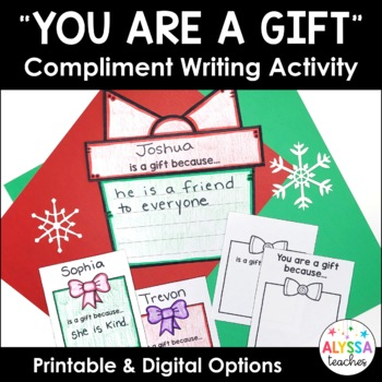 Christmas Craftivity - Students Are Gifts