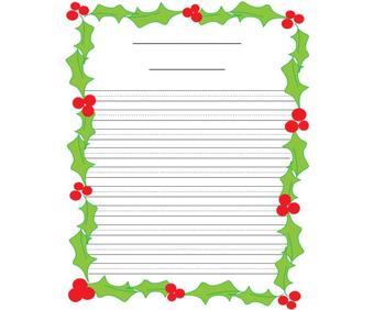 Christmas 3D Santa Writings