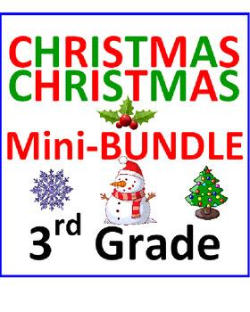 Christmas 3rd Grade Mini-Bundle