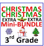 Christmas 3rd Grade Mini-Bundle EXTRA (3 Items)