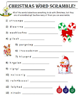 Christmas 3rd Grade Mini-Bundle EXTRA (3 Items)