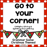 Christmas 4 Corners ELA Games