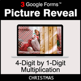 Christmas: 4-Digit by 1-Digit Multiplication - Google Form