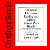 Christmas 4th Grade Reading and Writing Bundle