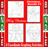 Christmas Bundle #1 - 4 Coordinate Graphing Activities