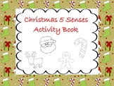 Christmas 5 Senses Activity Book