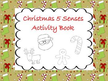 Christmas 5 Senses Activity Book