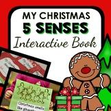 Christmas 5 Senses Interactive Book and Activities-Prescho
