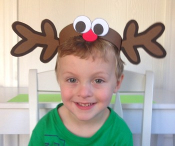 Christmas: {A So Sweet Craft Reindeer Hat}