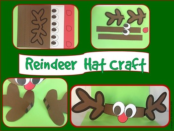 9200de61d Christmas: {A So Sweet Craft Reindeer Hat}