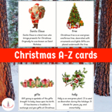 Christmas A-Z Cards