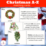 Christmas A-Z Matching Cards