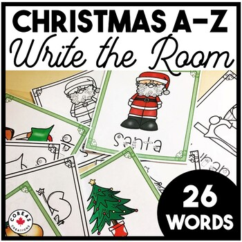 Christmas Words A Z.Christmas A Z Write The Room