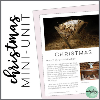 Christmas: A Nonfiction Mini-Unit with Close Reading Practices