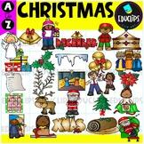 Christmas A to Z Clip Art Set {Educlips Clipart}