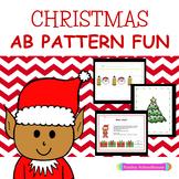 Christmas: AB Pattern Fun