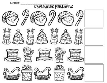 Christmas AB Patterns