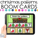 Christmas AB Patterns Boom™ Cards - Distance Learning for