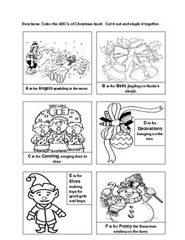 Christmas ABC Book
