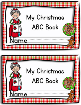 Christmas Alphabet Book (Printable) ABC