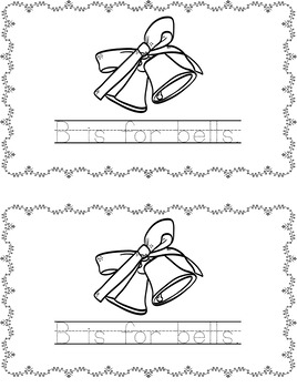 image regarding Abc Book Printable called Xmas Alphabet Ebook (Printable) ABC
