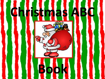 Christmas ABC Book-You Pick The Pages