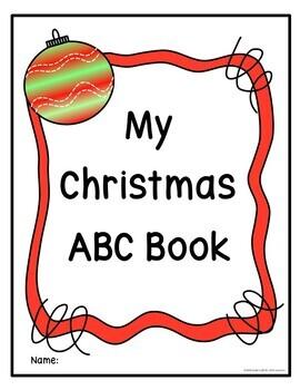 Christmas ABC Coloring Printables