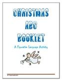 Christmas ABC Figurative Language Booklet