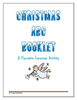 Christmas ABC Figurative Language Booklet